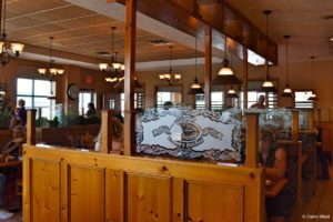 Gorge Country Kitchen. Restaurant Interior Section, Elora, ON, Canada