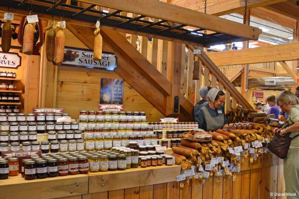 Sausages and Preserves. St. Jacobs,
