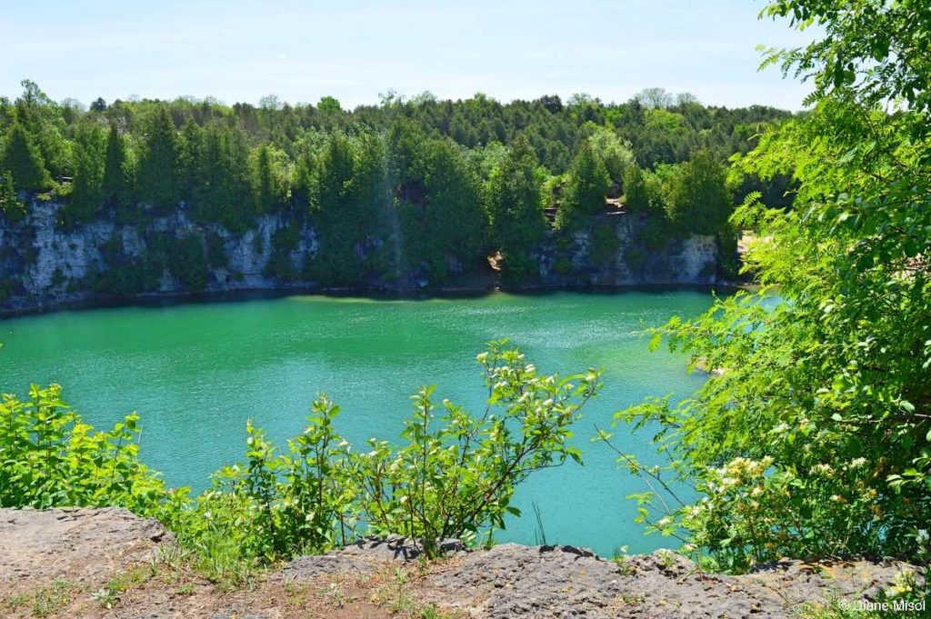 Surreal Colors of the Elora Quarry. Ontario, Canada