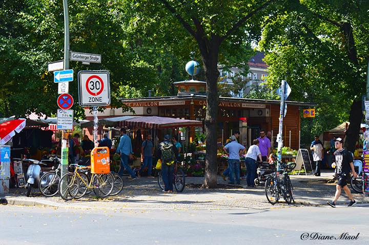 Famous Boxhagener Platz, Boxi, Friedrichshain – Series, Europe is Hot, Berlin is on Fire