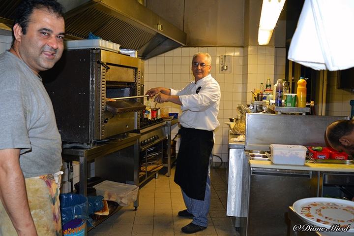 Kitchen Action, Al Colosseo Italian Restaurant, Berlin