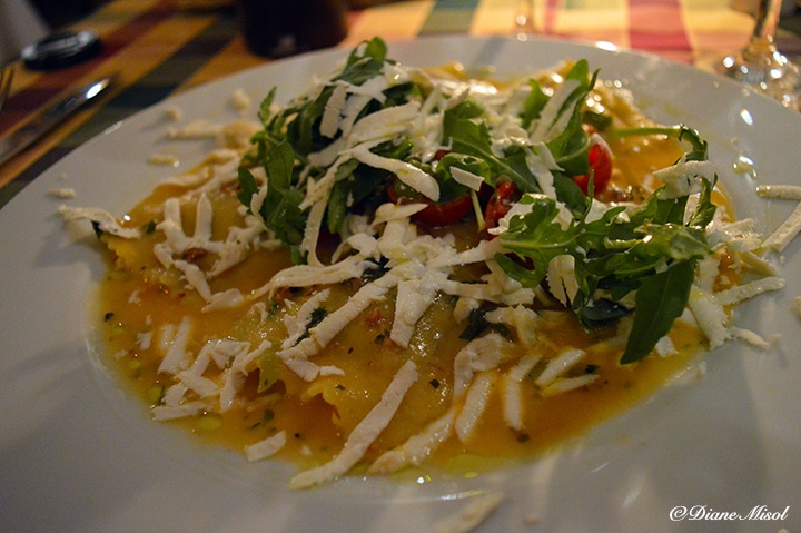 Ravioloni, Al Colosseo Italian Restaurant, Berlin, Review