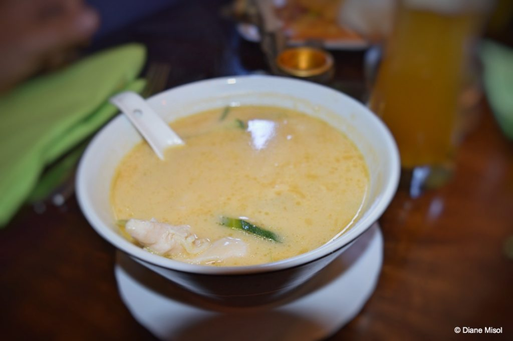 Tom Kha Gai Soup - Chicken and Coconut Milk. Hanoi, Konstanz