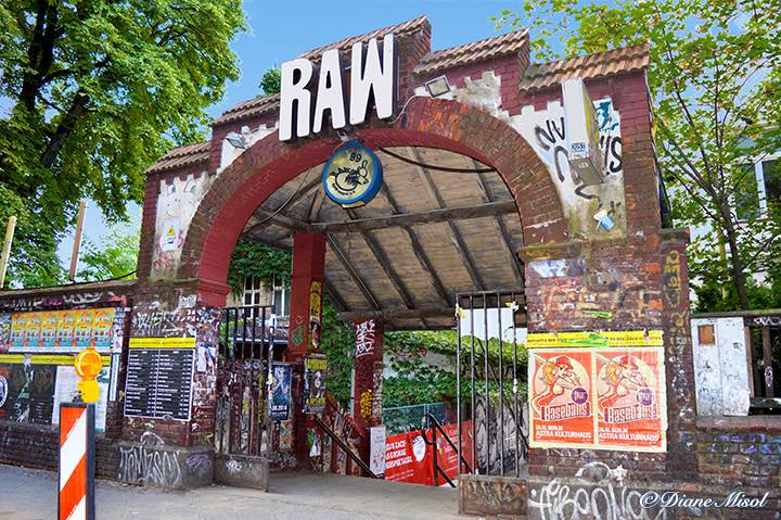 RAW Entrance, Friedrichshain, Berlin