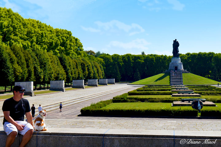 Soviet Soldier War Memorial. Treptower Park, Berlin