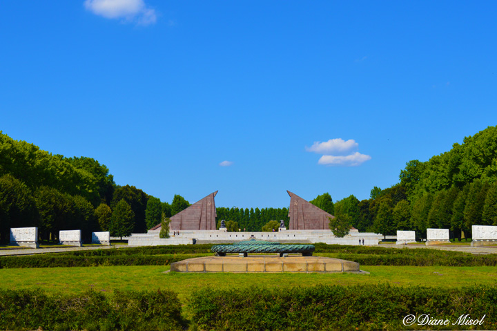 Soviet War Memorial - Battle of Berlin. Treptower Park