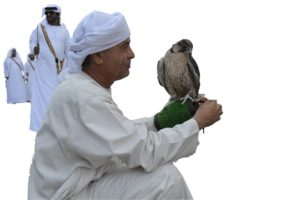 Friendly Hawk Handler, Abu Dhabi