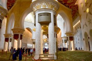 Opulent Interior of the Sheikh Zayed Grand Mosque