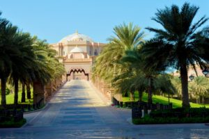 Emirates Palace Grand Entrance, Abu Dhabi