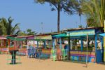 Beach Vending Stalls - Panambur Beach, New Mangalore, India