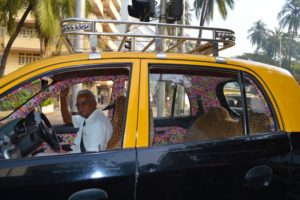 Colorful Taxi - Mumbai, India