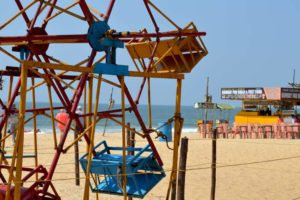 Ferris Wheel - Panambur Beach, New Mangalore, India