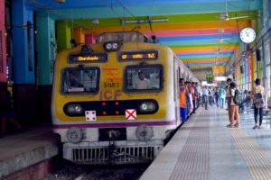 Train Arrival - Mumbai Hamara Station, India