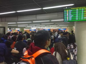 Airport Chaos at Bangkok Don Mueang Airport