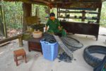 Backward Sandal Maker - Cu Chi Tunnels, Ho Chi Minh