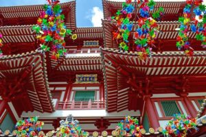 Buddha Tooth Relic Temple - Chinatown, Singapore