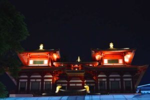 Buddha Tooth Relic Temple at Night - Chinatown, Singapore