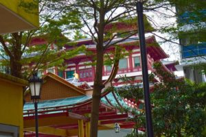 Glimpses of the Buddha Tooth Relic Temple - Chinatown, Singapore
