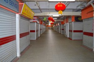 CNY Day, Closed - Chinatown, Stalls-Singapore