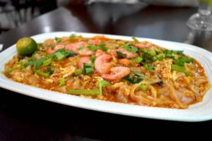 Char Kuey Teow / Broad Noodles with Seafood - Kuala Lumpur