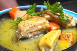 Chicken with Mushroom - Quán 176 Restaurant, Ho Chi Minh