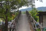 Foot and Moto Bridge over River - Langkawi, Malaysia