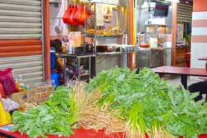 Fresh Ingredients for Street Food - Chinatown, Singapore