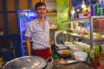 Happy Soup Vendor - Ben Thanh Street Food, Ho Chi Minh