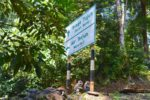 Hiking Signs to Falls and Monkey Guides - Langkawi Island Mountains