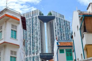 Old meets New - Chinatown Architecture, Singapore