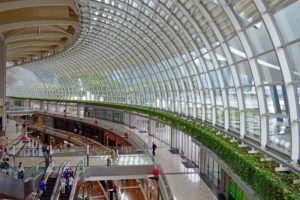 Shoppes at the Marina Bay Sands Mall - Singapore