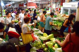 Vegetable Market - Chinatown, Singapore