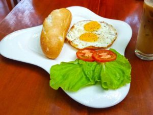 Breakfast Eggs at Gia Thanh Restaurant - Phu Quoc