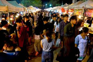 Chiang Rai Saturday Night Market - Thailand