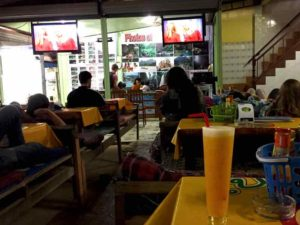 Chillin at a Friends Bar - Vang Vieng, Laos