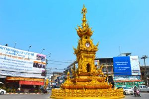 Golden Clocktower - Chiang Rai, Thailand