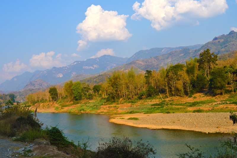 Incredible View of a River - Laos