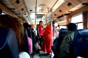 Local Bus to Buddha Park - Vientiane, Laos