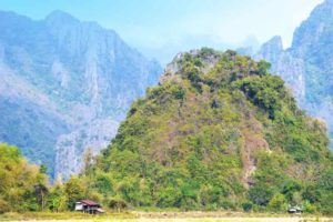 Mountains of Vang Vieng, Laos