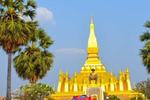 Pha That Luang Temple - Vientiane, Laos