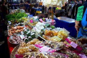 Stall at Saturday Night Market - Chiang Rai, Thailand