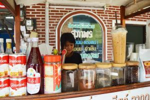 Street Side Coffee Shop - Chiang Rai, Thailand