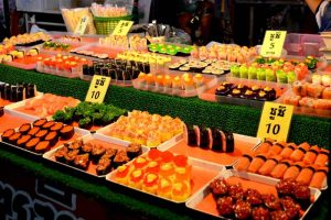 Sushi Treats - Chiang Rai Night Market, Thailand