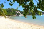 Almost Deserted Beach Koh Tao Thailand