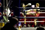 Australia VS Thai Double Kick - Muay Thai Ladies Boxing, Chiang Mai