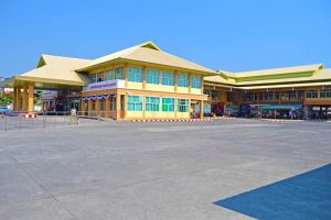 Bus Station in Chiang Mai, Thailand