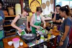Coconut Cream For Sticky Rice - A Cooking School in Chiang Mai