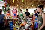 Concentration at a Chiang Mai Cooking School
