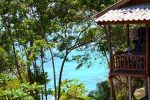Dreamy Shark Bay, View from OK 2 Bungalows - Koh Tao, Thailand