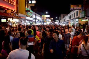 Getting Busy on Khao San Road, Bangkok